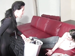 Step Mom  Footjob