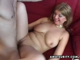 Large-Bosomed fledgling porno housewife assfuck rigid fuck-fest