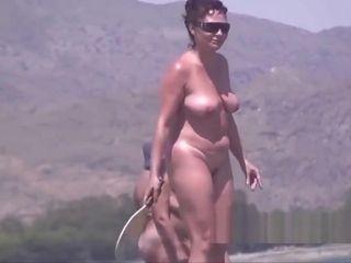 Inexperienced naturist mummies Jackass hidden cam bare Beach Spy webcam Ep 2