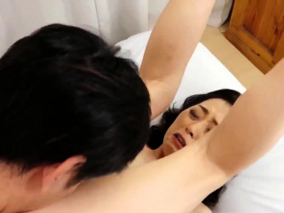 Japanese queasy pussy toying