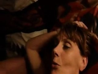 Sonny visage de coquine plein de sperme