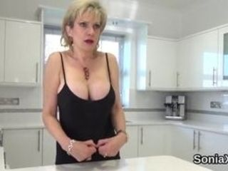 Phat boobed bicurious hubby gill ellis fondles her strong boobs and drains delicate cunt in panties