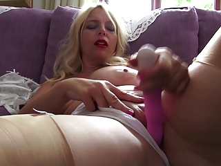 Sexy mature teacher mom with perfect body