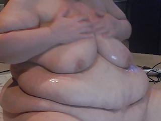 wigle oil on tits