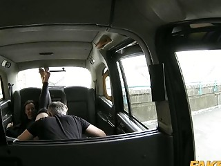 Housewife fucked by nasty fraud driver