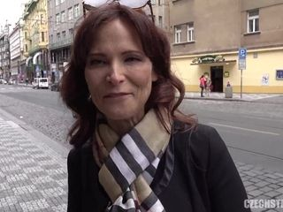 CzechStreets E120 yankee supah mommy I´d like to tear up - rock hard tear up