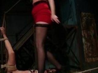 Platinum-blonde wifey virgin ripped discovers her husbandhas been getting handjobs at rubdown parlour and binds diminutive chinese massagist Marica Ha