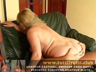 Hairy mature anal