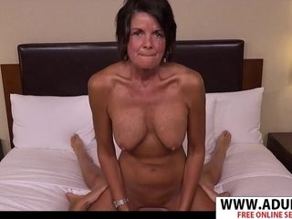 Ideal mummy In Law Tessa rails Mammoth stiffy