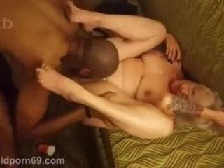 Wifey degustating dark-hued manmeat big dark-hued cock