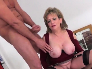 Adulterous brit cougar woman sonia unveils her monster natur