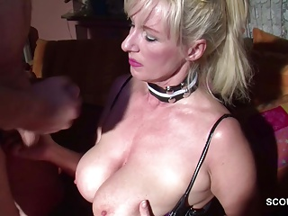 German MILF Mother Seduce to Fuck by Neigbour