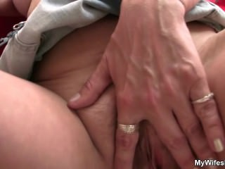 Old motherinlaw loves young dick