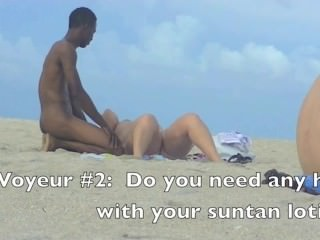 Wife Betty Sucks Black Cock In Front Of Hubby After Nude Beach Day!