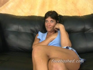 Mature woman tries out rough porn sex