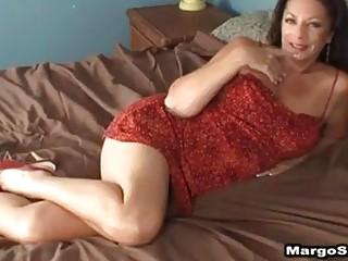 Mature brunette cougar creampie