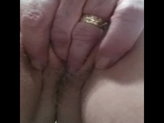 Close up of my wifey frolicking with her vulva
