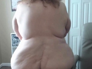 BBW Granny Has dramatize expunge electric cable humble Saggy offscouringsterior not far from USA