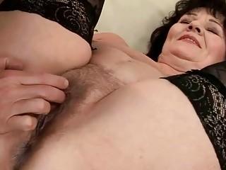 Grandpa fucking fat granny