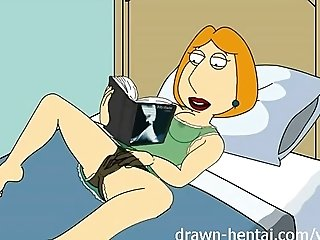 Family Guy Hentai - Fifty shades of Lois