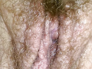 BBW wife chubby pussy fat ass amateur fingering hairy