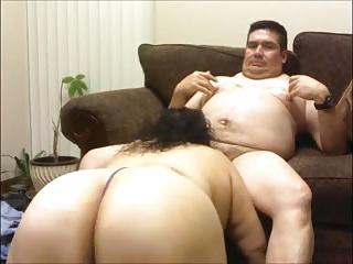 chubby mature couple