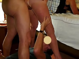 Wipe the floor with wifes creamed pussy