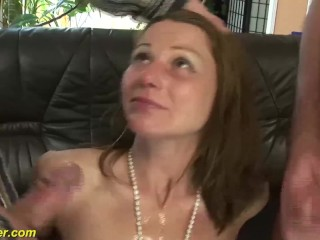 German milfs saucy reproduction in detail