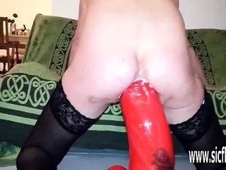 XXXL assfucking going knuckle deep and immense fuck stick smashed wifey