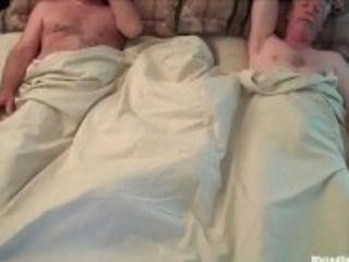 """Insatiable dick cockslut grandma Threesome"""