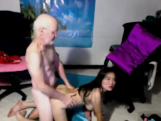 Elderly guy shag His dick On Her japanese fucking partner