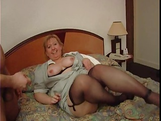 Mature french maid with Big ass