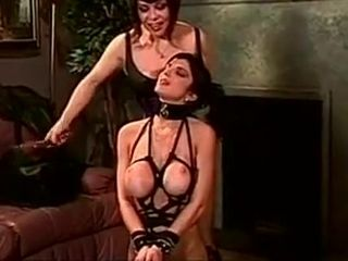 Nice romp marionette disciplined while stud witnesses
