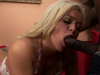 Good-sized boob light-haired wife luvs good-sized black cock ass fucking fucky-fucky sesh Of duo