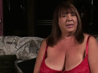 Dark-hued stiffy sates a huge-titted lady