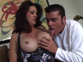 Ultra-kinky Dark Hair Mature With enormous udders Gets plowed - raquel devine