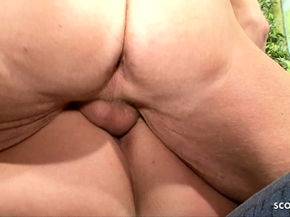 German Mature Join in 3some with cougar wifey and hubby