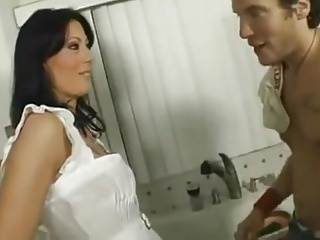 Mom seduced by her young step son 2015 Wooow Hotmoza