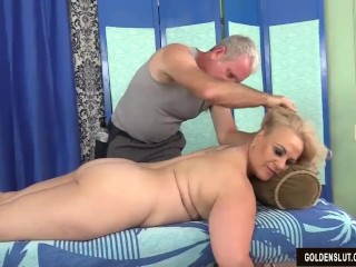 Patriarch fair-haired Summer Has say no to company increased by Genitals Massaged