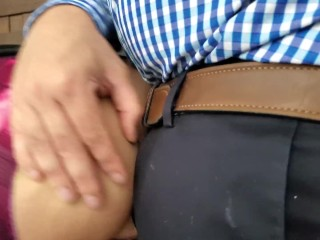 Phat ass white girl wifey Cheats with manager taking it in the bum