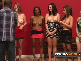 Legal Years aged swinger boy fumbles the breasts