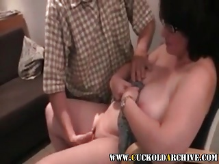 Cuckold Archive MILF fucked by black and white bull Sissy me