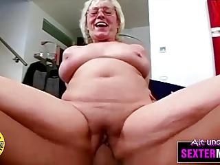 Oma will den dicken Schwanz