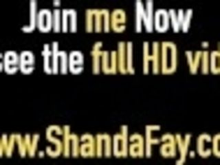 """Horny Housewife Shanda Fay Gets A explosion Of jizz On Her backside!"""