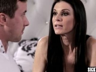 Nasty fellow with big sausage gobbled matures India Summer humid taut cootchie insane smallish globes mature guzzled his big rigid penis before he zea