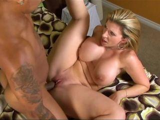 Mother enjoys The dark-hued beef whistle - Sara Jay cougar pornography