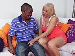 This seductive Gilf Gets demolished By A big black cock - jonathan jordan