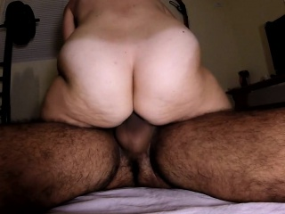 Furry amateur partner peluda large butt trips that are powe