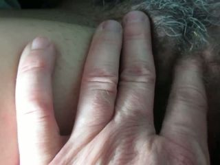 I enjoy to finger ravage my wife's ginormous unshaved cunt and her muff is ginormous truly