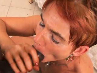 Jana hankers for the taste of dark-hued cumbot